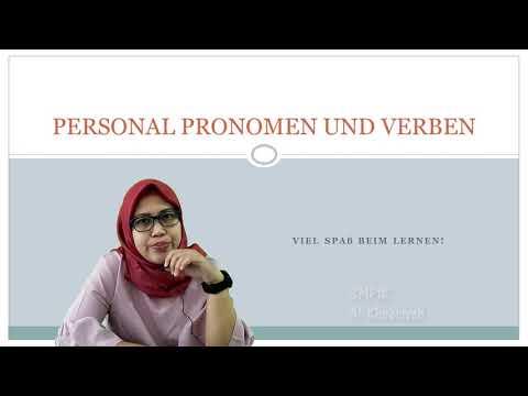 Personal Pronomen Und Verben   Deutsch VII