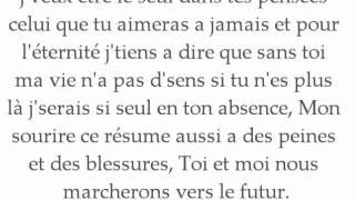 Tuesy Feat Nadjy - Au rythme de ton coeur ( Paroles.)