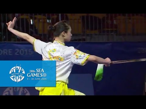 Wushu - Women's Optional Sword (Day 2) | 28th SEA Games Singapore 2015