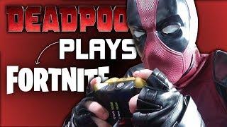DEADPOOL Plays Fortnite! *FREE V-BUCKS* (v-bucks are not free)