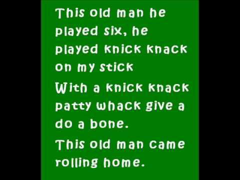 This Old Man Knick Knack Patty Whack.wmv