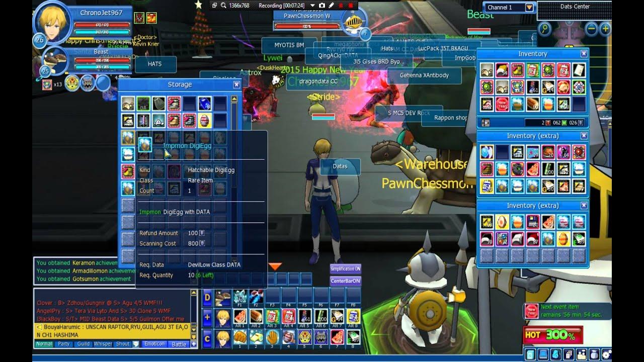 Digimon Masters Online Hatching Mercenary Digieggs Youtube Lyto Game On 500k