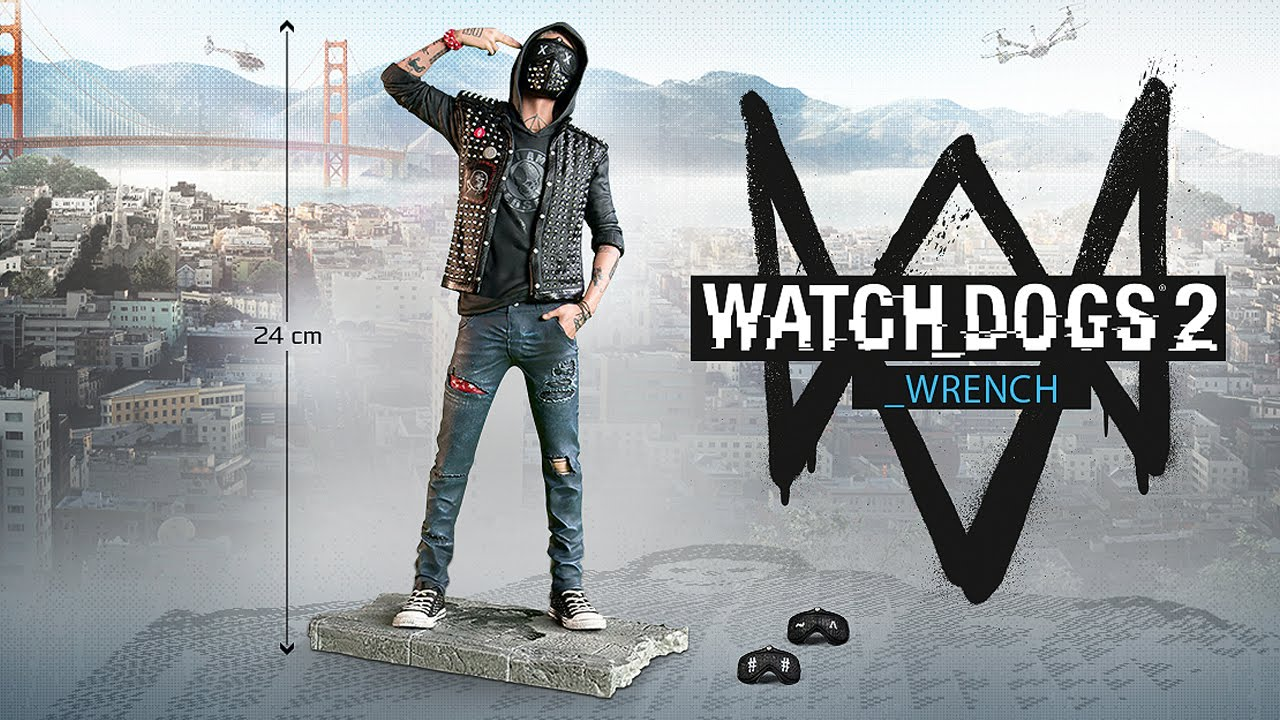 Watch Dogs 2 Figurine The Wrench European Ubisoft