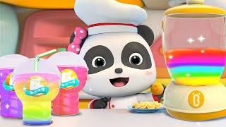 Sweet and Sour Fruit Juice | Colors Song, Hamburger Song | Nursery Rhymes | Kids Songs | BabyBus