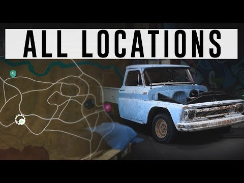 Nfs Payback All 5 Derelict Car Part Locations Youtube