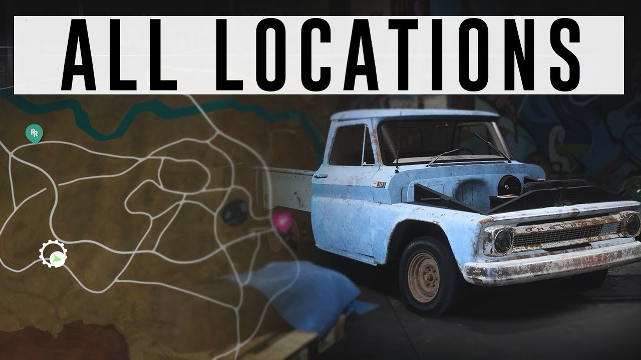 old car parts locator guide