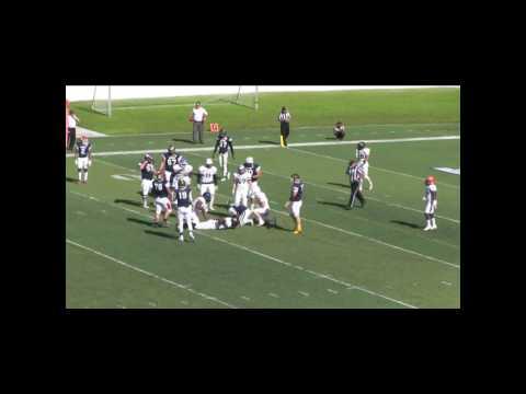 Omari Manhertz National Bowl 2016 Highlights #91