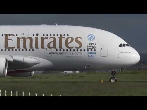 Dangerous Landing for Emirates Airlines in Germany