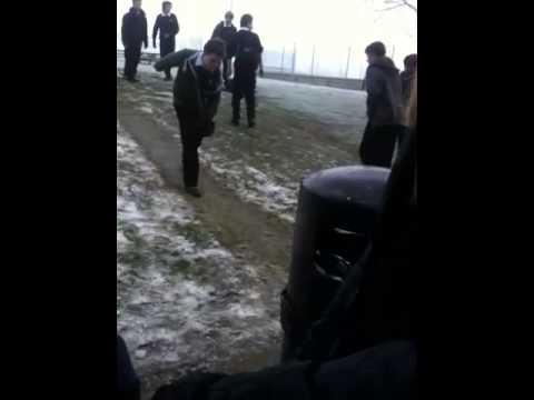 Sliding at Wollaston school x