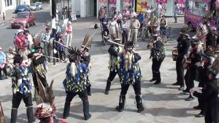 "July 3, 2010, Hook Eagle Morris perform ""Click Go The Shears"" at Widders WoD, Chepstow.MTS"