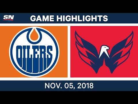 NHL Highlights | Oilers vs. Capitals– Nov. 5, 2018