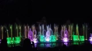 Вьетнам Нячанг Винперл шоу фонтанов 2017