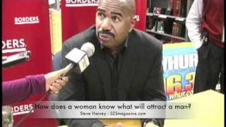 Steve Harvey offers some real advice for the ladies
