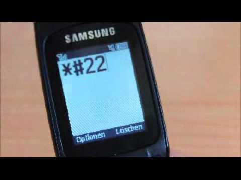 Samsung E1310B Tricks/Codes