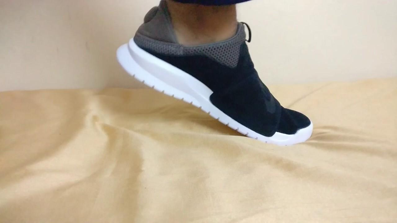 NIKE Benassi Slip-on Sneakers | On-foot