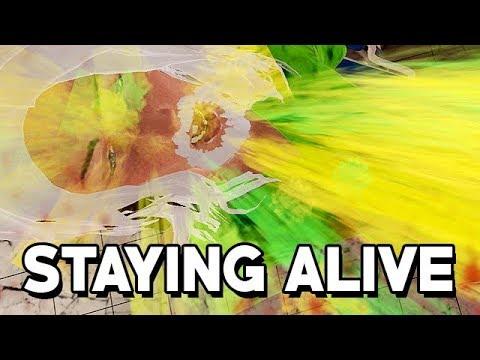 Staying Alive Gameplay German - Dieses Spiel macht DUMM