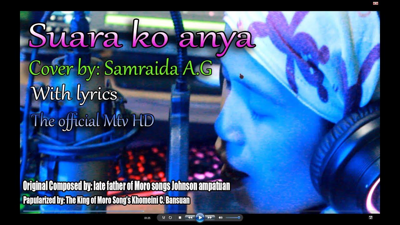 SUARA KO ANYA_COVERED BY: SAMRAIDA_MTV WITH LYRICS HD