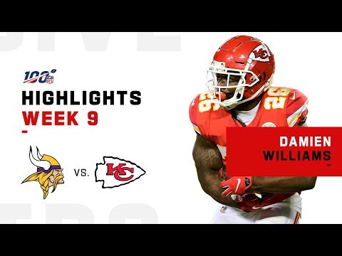 Damien Williams Rushes for 125 Yds & 1 TD | NFL 2019 Highlights