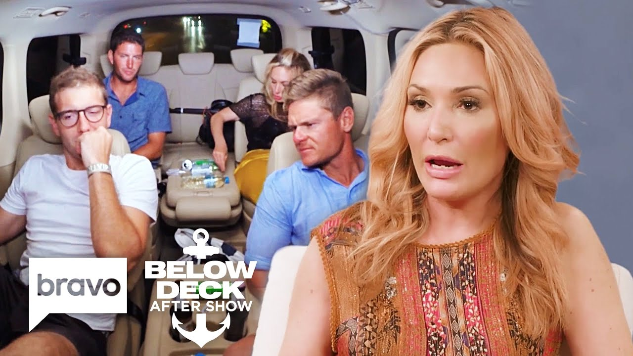 Download The Below Deck Crew Reacts to Kate Chastain Quitting the Boat | Below Deck After Show (S7 Ep12)