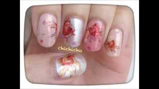 Easy Goldfish Nail Art