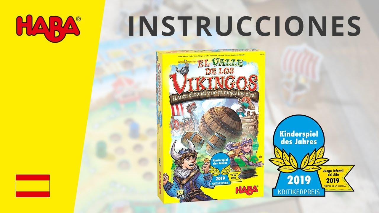Haba El Valle De Los Vikingos Instrucciones Kinderspiel Des Jahres 2019 Youtube