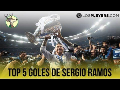 Top 5 Goles de Sergio Ramos