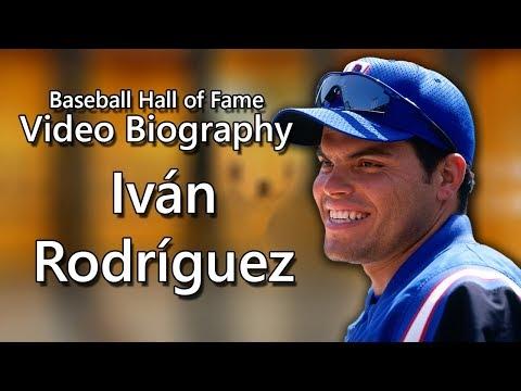 Iván Rodríguez - Baseball Hall of Fame Biographies