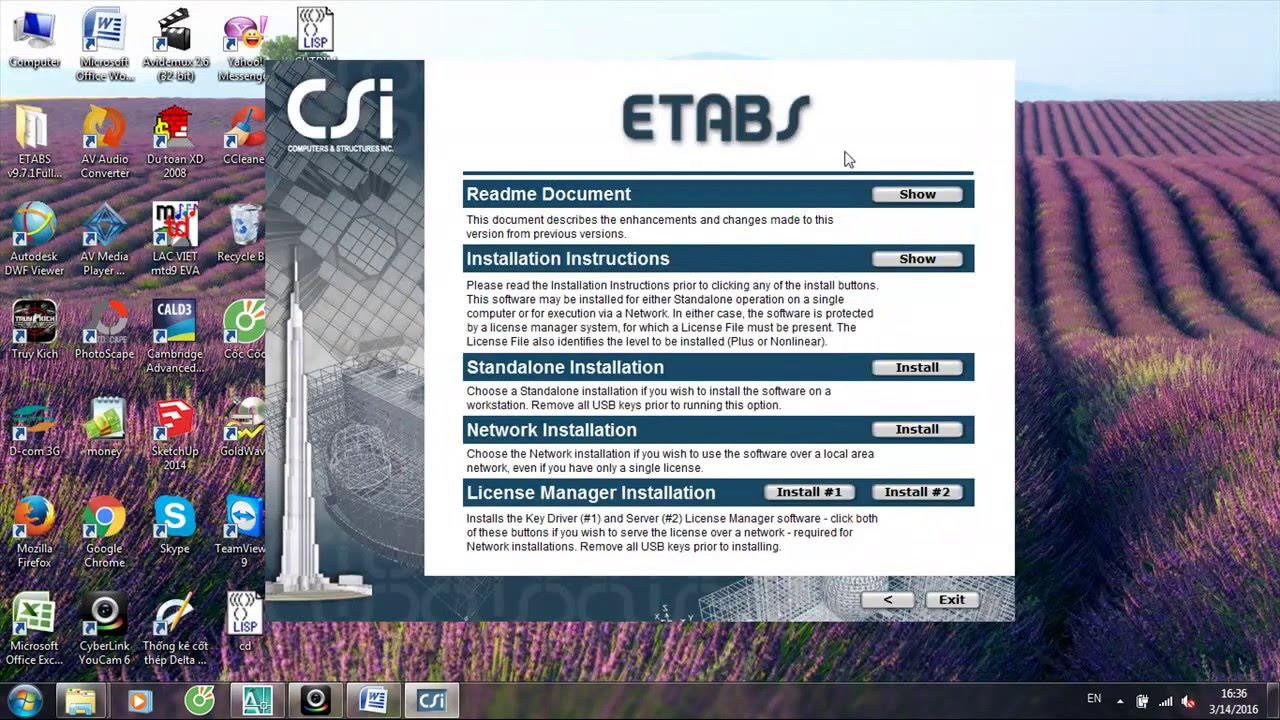 etabs 9.7.1 full crack