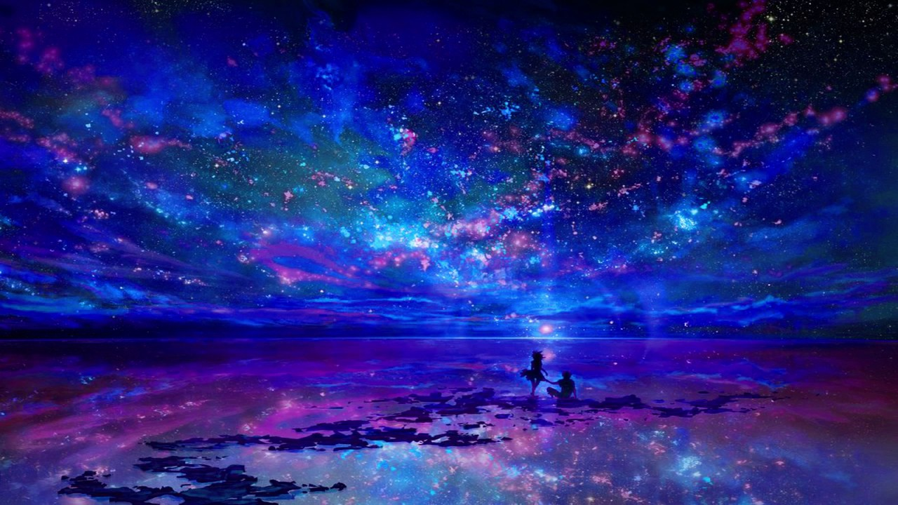 Trance Girl Wallpaper Two Steps From Hell Star Sky Thomas Bergersen