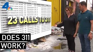 Trash and Rats. Is LA's 311 working? | NewsConference | NBCLA