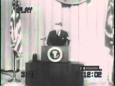 President Kennedy supports RFE