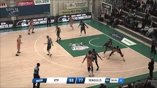 Kazembe Abif Helsinki Seagulls Highlight 19-20