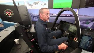 F-35 II lightning jet fighter pilot interview