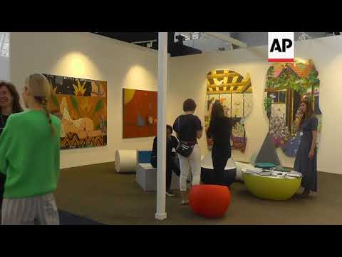 Art Brussels showcases Europe's best contemporary art