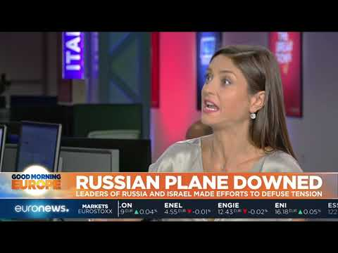 euronews (in English): Russia plane downed