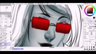 Homestuck speedpaint - Alpha girls REDRAW