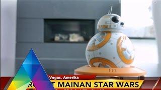 REPORTASE MALAM - Robot Mainan Dari Film Starwars