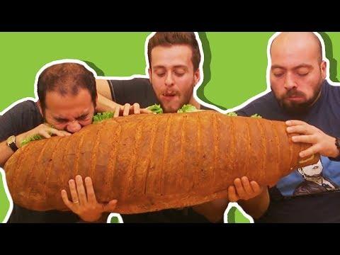 Türkiye'nin En Büyük Sandviçini Yaptık