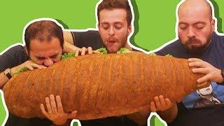 Türkiye nin En Büyük Sandviçini Yaptık