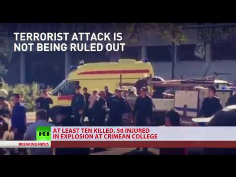 Special coverage: Attack at Crimean college leaves 19 killed, 50 injured