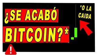 ⛔️¡$29.000 BITCOIN!⛔️ Compraste? O se acabó la gasolina? Estaba muy claro... | Bitcoin Hoy