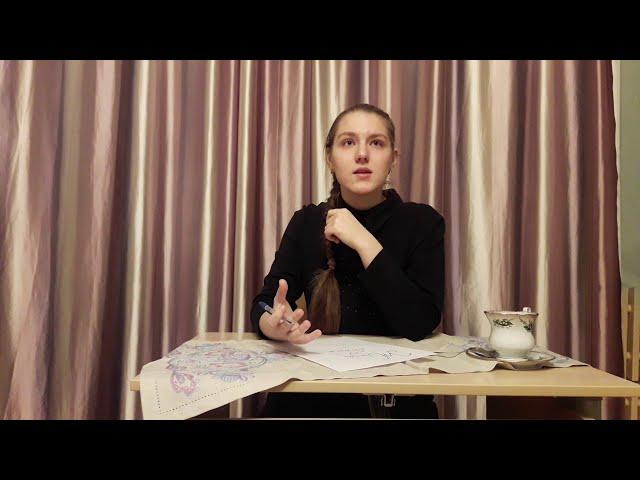 Изображение предпросмотра прочтения – ЕлизаветаДеркач читает произведение «Жизнь - обман с чарующей тоскою» С.А.Есенина