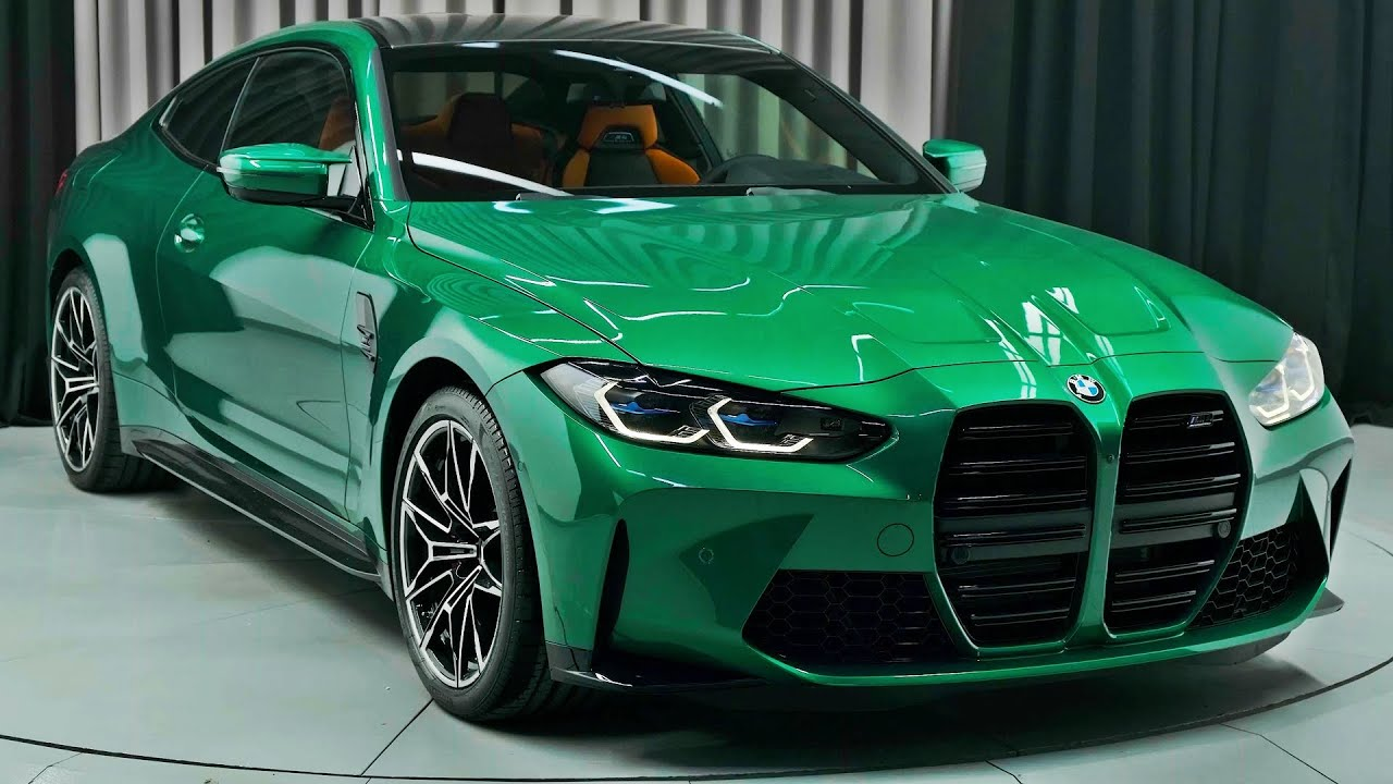 BMW M4 Competition (2021) - Green Beast!