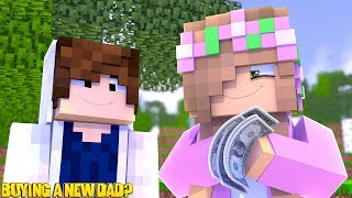 LITTLE KELLY BUYS A NEW DAD? | Minecraft Royal Family