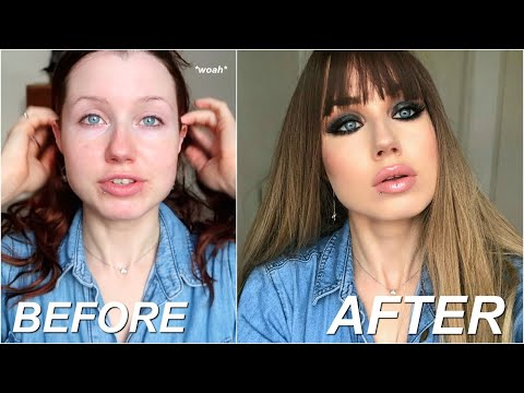 how to CATFISH everyone in your life (makeup tutorial & beauty secrets) thumbnail