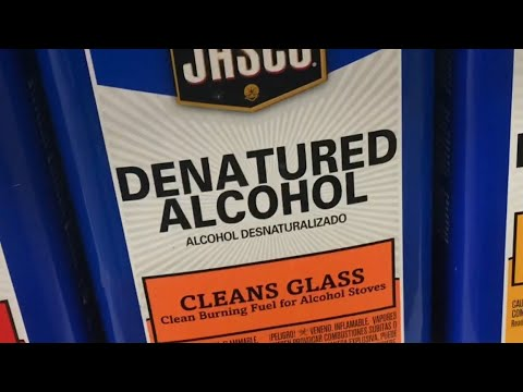 the DIFFERENCE between denatured alcohol and alcohol