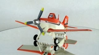 Disney Planes Toys - Dusty Crophopper Diecast Toy Review