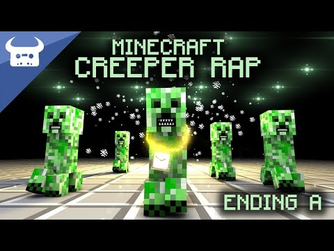 MINECRAFT CREEPER RAP  Dan Bull  ENDING A