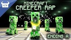 MINECRAFT CREEPER RAP | Dan Bull | ENDING A