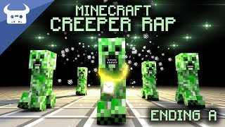 Repeat youtube video MINECRAFT CREEPER RAP | Dan Bull | ENDING A